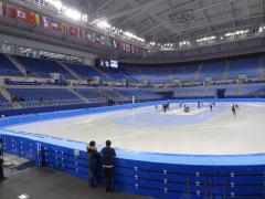 平昌オリンピック 江陵スケート競技場