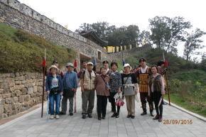 百済公州の公山城